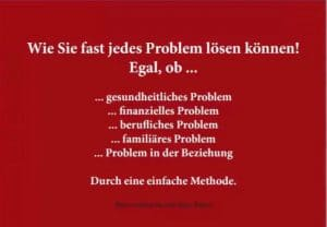 Wie Si fast jedes Problem lösen können